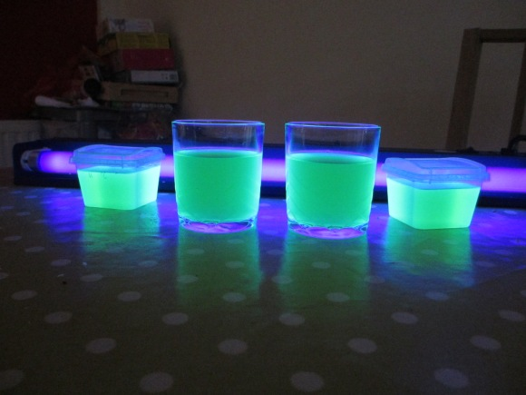 Glowing Jelly!