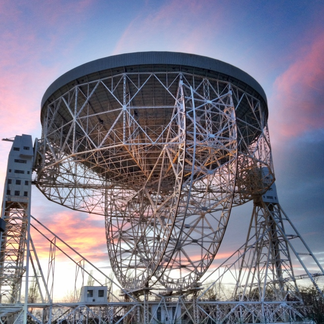 The Lovell Telescope Dish