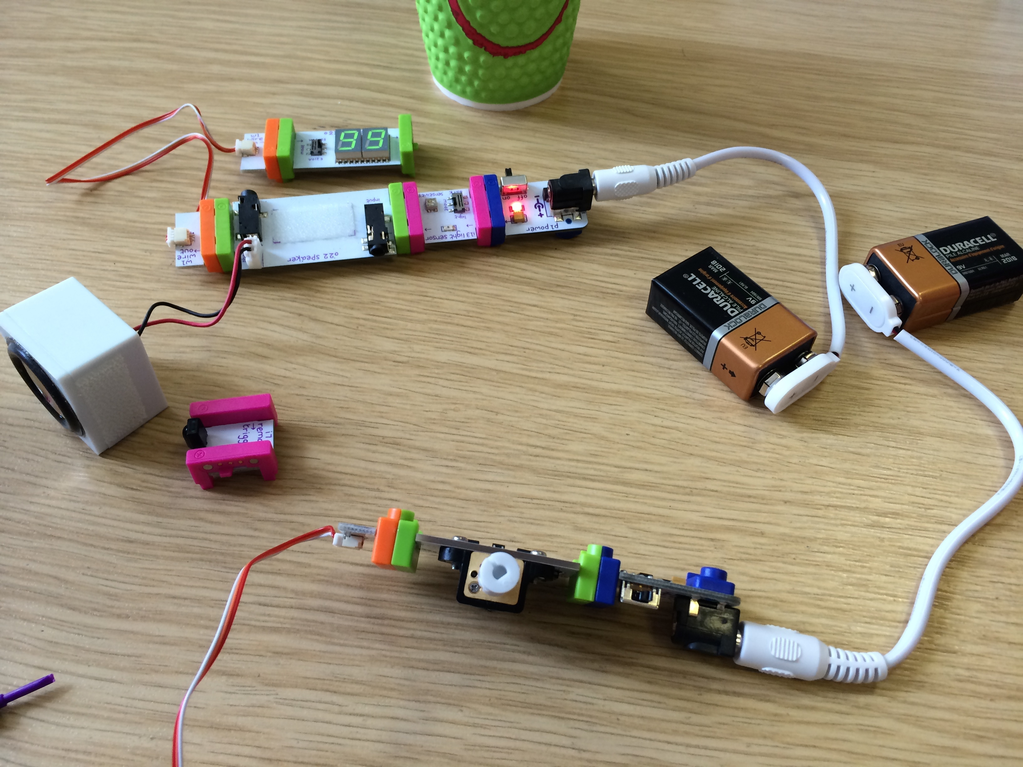 The Littlebits Exoplanet Detector A Nam 2014 Hack Day Project Simple Led Circuit Projects Img 2359