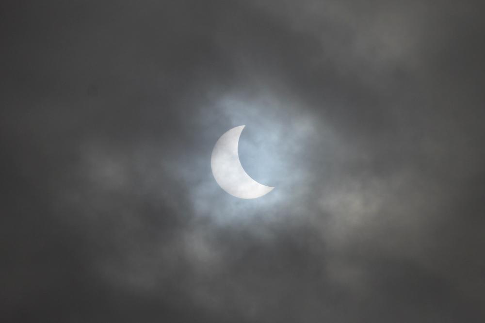 Partial Eclipse 9am