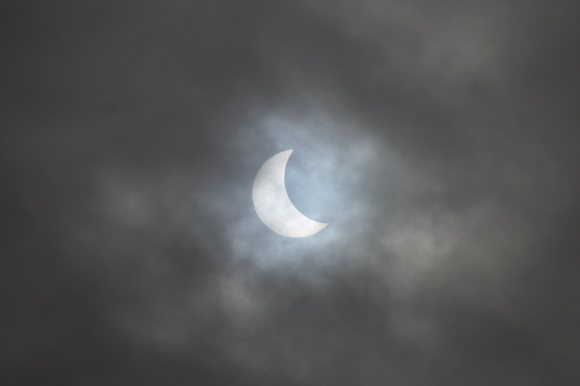 Partial Eclipse 9am