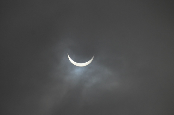 Partial Eclipse Grin